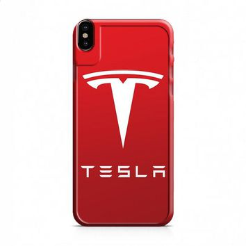 New Tesla Motors Logo iPhone X case