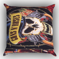 28 Guns N Roses Wallpapers  X0543 Zippered Pillows  Covers 16x16, 18x18, 20x20 Inches