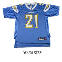 Reebok San Diego Chargers #21 LaDainian Tomlinson NFL Jersey YOUTH Size Large