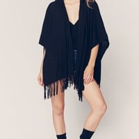 COTTON FRINGE SERAPE