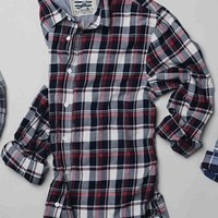 A.R. BEACH WASHED PLAID SHIRT