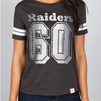 Junk Food Clothing - NFL Oakland Raiders Tee