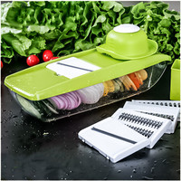 Mandoline Manual Vegetable slicer with 5 Blades
