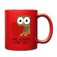 OWL ALWAYS LOVE YOU Full Color Mug