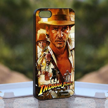Indiana Jones Crusade MQL0202 - Design available for iPhone 4 / 4S and iPhone 5 Case - black, white and clear cases