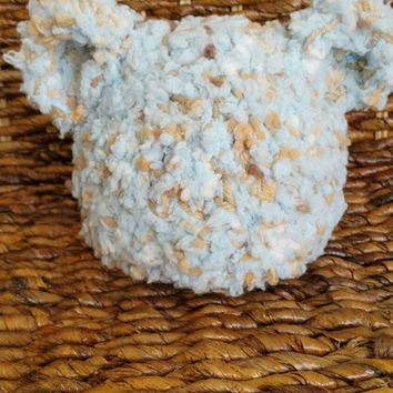 Newborn baby boy bear hat