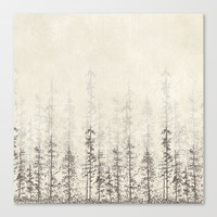 Forest Home Canvas Print by Rskinner1122