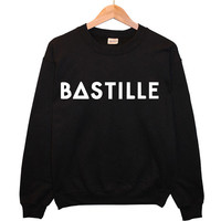 Bastille Music Tour Sweater top sweatshirt hoodie t shirt fashion cool tumblr hipster womens-Worldwide Shipping- S M L XL