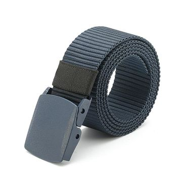 Outdoor Belts 120CM Unisex Nylon Camouflage Belt Military Tactical