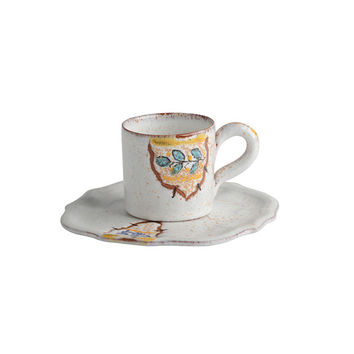 Frammenti Espresso Cup and Saucer