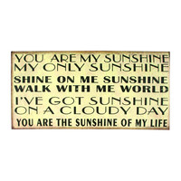 MY SUNSHINE CANVAS