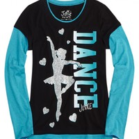 Sports 2fer Tee   Girls Graphic Tees Clothes   Shop Justice