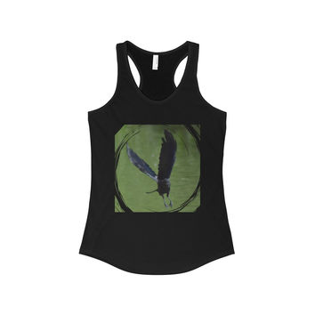 As the Crow Flies- The Ideal Racerback Tank