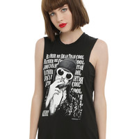 Nirvana Kurt Cobain Quote Girls Muscle Top