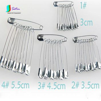 Safety Needle Pin Large Size Full Box Sweater Wedding Decor Pins Small Baby Safety Metal Pins 80PCS/Lot S053M