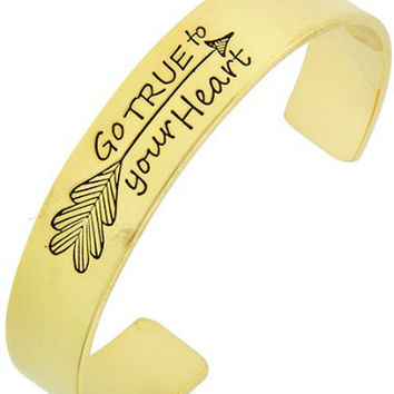 Go True Arrow Cuff