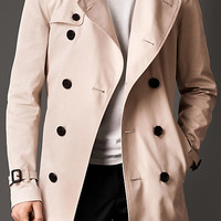 The Kensington - Mid-Length Cotton Trench Coat