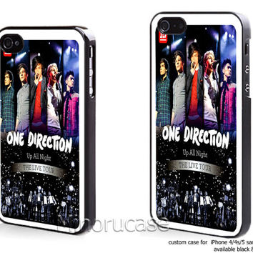 one direct up all night Custom case For iphone 4/4s,iphone 5,Samsung Galaxy S3,Samsung Galaxy S4 by minorucase on etsy
