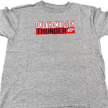 Oklahoma City Thunder OKC Majestic T SHIRT Youth Size 7