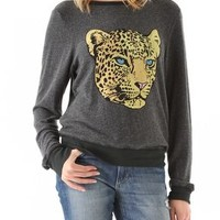 Wildfox Verona Cat Baggy Beach Sweatshirt | SHOPBOP