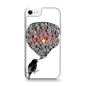 The Beatles Blackbird Lyrics iPhone 6 | iPhone 6S Case