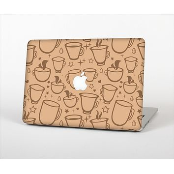 The Vintage Vector Coffee Mugs Skin Set for the Apple MacBook Air 13""