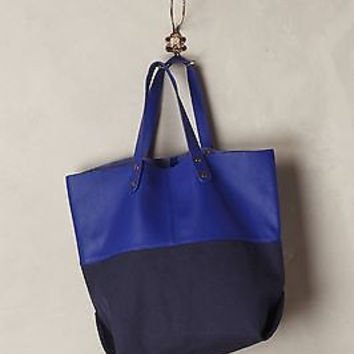 NWT Anthropologie Lexington Aberdeen Tote Bag
