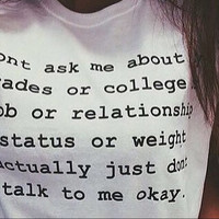 Dont college T shirt