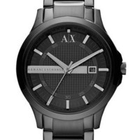 Black Stainless Steel Bracelet Watch 