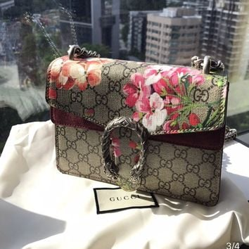 GUCCI Dionysus GG Blooms mini bag