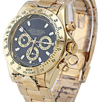 Men's Luxury Stainless Steel Automatic Mechanical Classic Daytona Gold Silver 2 Tones Watches