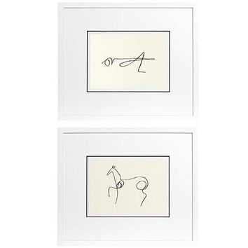 Eichholtz Picasso Print (set of 2)