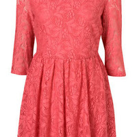 Petite Lace Flippy Dress - Topshop USA