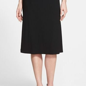Women's Eileen Fisher Flare Jersey Skirt,