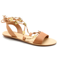 Starla Biscuit Plank Sandal