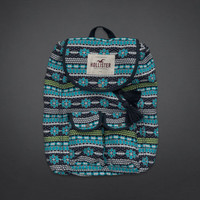 Colorful Embroidered Backpack