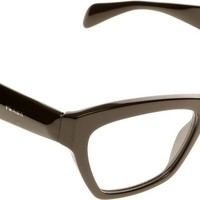Prada PR14QV Eyeglasses-1AB/1O1 Black-51mm