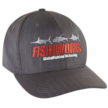 Fishworks 3 Fish Impact Hat - Pinstripe - L/XL