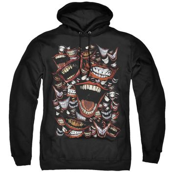 Batman Hoodie Joker Laugh Repeat Black Hoody