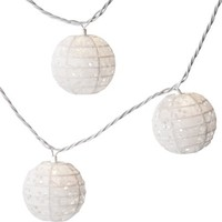 Room Essentials® Pierced Globe String Light