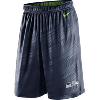 Seattle Seahawks Nike Fly Warp Performance Shorts – College Navy