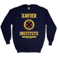 CHARLES XAVIER INSTITUTE UNOFFICIAL X-MEN JUMPER SWEATER ADULTS KIDS SIZES COLS
