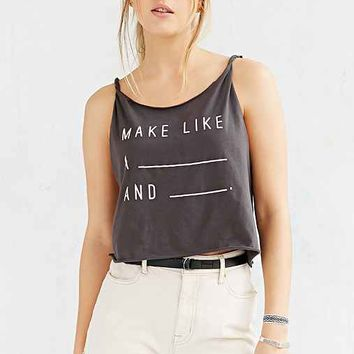 Project Social T Twisted Strap Tank Top