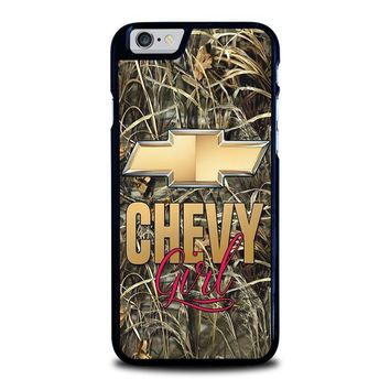camo chevy girl iphone 6 6s case cover  number 1