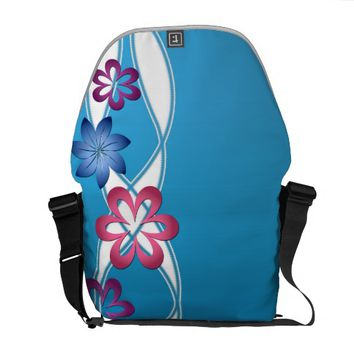Spring Flowers Courier Bag