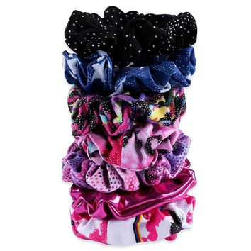 15 Color Girl Kid Seamless Ultra Elastic Hair Ties Bands Rope Ponytail Headband Scrunchie Rubber Band Hair Accessories