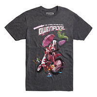 Marvel Gwenpool Motorcycle T-Shirt