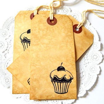 Coffee Stained Tags. Coffee Paper. Tea Stained Tags. Primitive Tags. Mason Jar Tag. Recipe Card. Gift Tag. Junk Journal Paper. Journal Tag.
