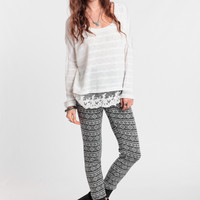 Camp Out Printed Lounge Pants