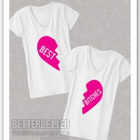Best Bitches Friends Funny Womans T-Shirts